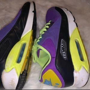Nike Shoes - Rare! Purple Nike Air Max 90